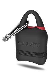Portable AirPods Silicone Climbing Crochet Crochet Étanche Preuve de la poussière Extérieure Protection AirPods Shell