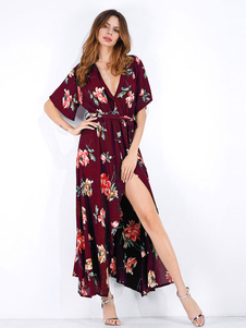 online store a57e5 5c4a1 Abito da donna floreale 2019 Abito da sera floreale Abito corto