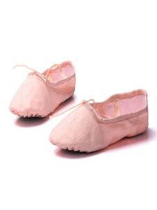 Zapatillas de ballet de lona cómodas
