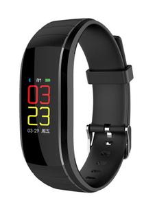 Image of Smart Band Guarda in tempo reale Frequenza cardiaca Modalità Multi Motion Sleep Track Sensore da polso Sensore di controllo Fitness Smart indossabile