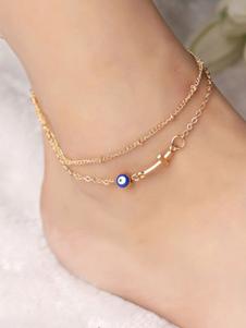 Image of Gioielli da donna con cinturino alla caviglia con cinturino alla caviglia d'oro