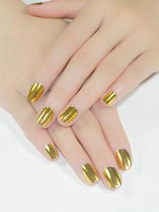 Image of Adesivi per unghie delle donne Carta per trasferimento di stelle artistiche in oro