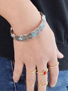 Boho pulsera pulsera de diamantes de imitación