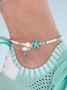 Image of Cavigliera da spiaggia che borda i monili del braccialetto della
