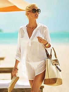 Image of Abbigliamento da spiaggia estivo da donna