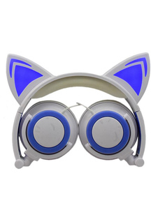 Image of Cat Ear Cuffie Noise Cancel Music Control Cuffie stereo cablate