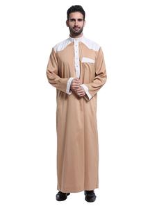 Image of Abbigliamento da uomo bicolore manica lunga