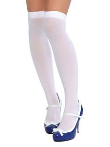 Image of Calze da ragazza calze al ginocchio calze da donna Accessori per costumi di Halloween