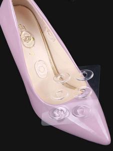 Almohadillas de zapatos transparentes Almohadillas de talón