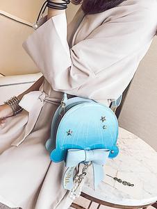 Bolsa de Lolita dulce Ombre Starlet Bow Pearl PU Lolita Bolsa de hombro
