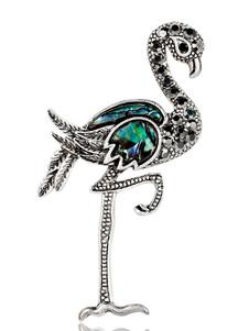 Image of Pin Brooch Ostrich Women Jewelry Regalo per la sua sciarpa Pin S