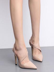 Image of Scarpe con tacchi alti da donna 2020 con tacchi alti a punta