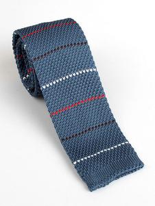 Image of Cravatta uomo casual cravatta in maglia a quadri