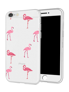 Image of TPU Phone Case Animal Print trasparente antipolvere paraurti res