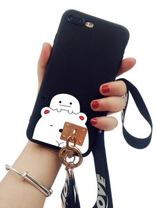 Image of IPhone 8 IPhone 8 IPhone 8 Plus Phone Bumper Phone With Rope