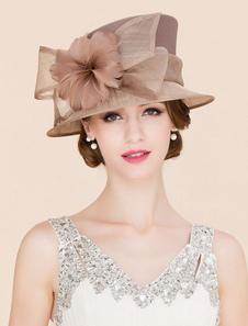 Image of Costume Carnevale Cappello da donna Royal Cappello marrone vinta