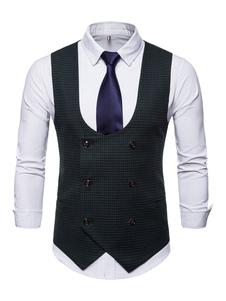 Image of Cappotto da uomo Cappotto Plus Size Abito doppio petto Vest mode