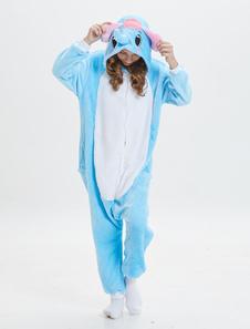 Image of Elephant Kigurumi Onesie Bambini Pigiama Blu Tute Unisex Animal