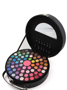 Juegos de maquillaje de paleta de sombras de ojos de mujer