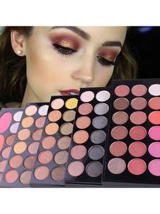 Conjunto de sombras de ojos Conjunto de maquillaje en polvo mate Paleta de maquillaje profesional