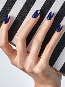 Calcomanías de uñas para mujer Teal Ombre Nail Art