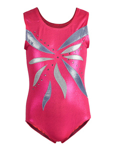 Bailarinas de baile de ballet Chicas Batas de gimnasia de color rosa Traje de bailarina moldeada