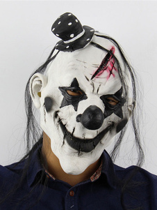 Image of Halloween Mask Spaventoso Clown Creepy Latex Full Head Horror Ma
