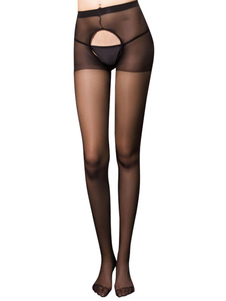 Image of Sexy Calze velate Crotchless Lingerie Hoisery per donne