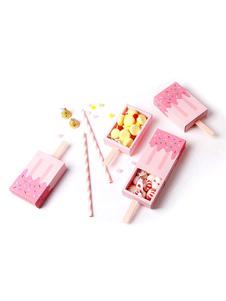 Cajas de favor de la boda forma del lechón del hielo 12 piezas de la caja del caramelo de los titulares de la fiesta de cumpleaños