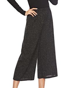 Image of Pantaloni larghi Donna Pantaloni corti Pantaloni elastici in vit