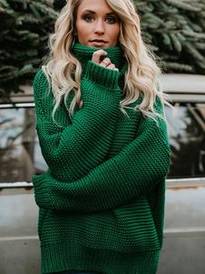 Image of Maglione donna oversize maglione pullover maglione maglia pesant