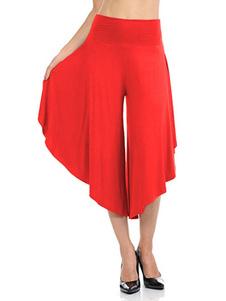 Image of Pantaloni oversize con gamba ampia e gamba irregolare