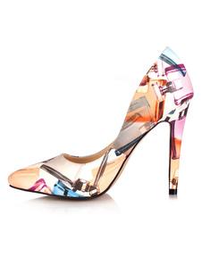 Image of Scarpe con tacchi alti da donna con tacco alto e scarpe con tacc