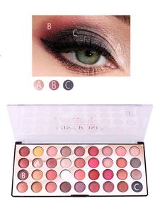 Paleta de maquillaje profesional de sombra de ojos para mujer