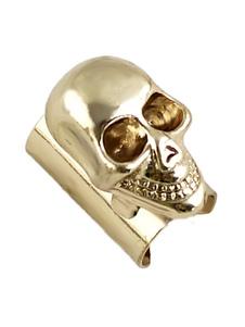 Image of Teschio orecchio Clip di gioielli di Halloween One Piece Not A P