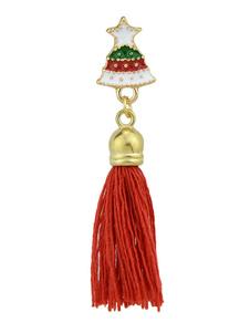 Borla broche de regalo de Navidad para su joyería de franja de campana