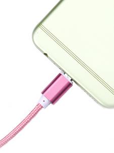 Image of Cavo di ricarica in nylon 2 m Cavo USB 2.0 con cavo flessibile p