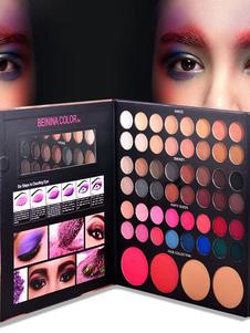 Conjuntos de maquillaje para mujeres Sombra de ojos de larga duración Maquillaje profesional Paleta