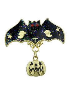 Image of Regalo di Halloween Pin Spilla zucca Ghost Pin per lei
