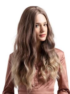 Image of Parrucche per capelli ricci Capelli ricci naturali lunghi ricci