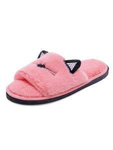 Image of        Scarpe da casa rosa per le donne