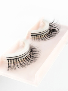 Image of Donne Ciglia finte Pelliccia di coniglio Natural Long Eye Lashes