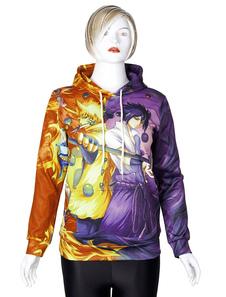 Image of Anime Naruto Felpa Donna Con coulisse Pullover con cappuccio sta