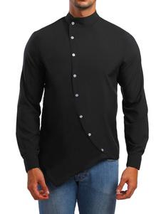 Image of Camicia Uomo Casual Camicia Button Down Down