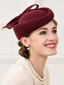 Image of Costume Carnevale Cappello a bombetta elegante retrò cappello la