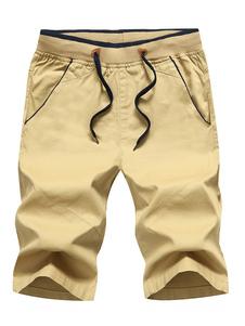 Image of Pantaloncini casual da uomo Plus Size Pantaloncini estivi con co