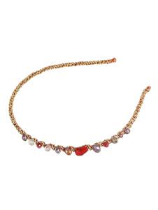 Image of Accessori per capelli per donna Cerchi in strass rosso
