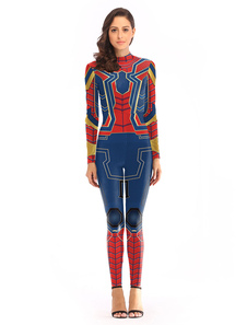 Image of Carnevale Costume cosplay di Spider Man Halloween Cosplay Jumpsu