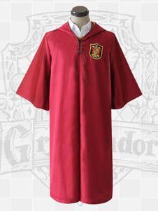 Image of Harry Potter Cosplay Costume Robe Cloak Hooded Uniform