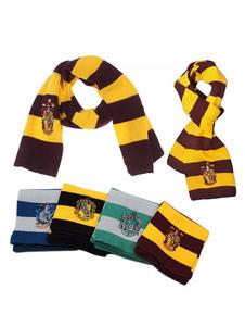 Image of Sciarpa Harry Potter Costume Cosplay Accessori in cotone a righe